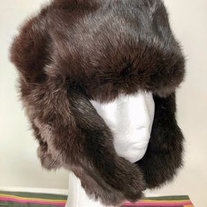 *SOLD***Real Fur Hat - Russian Ushanka - Beautiful